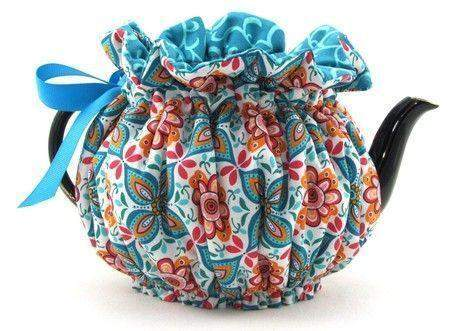 Bohemian Large 6-Cup Tea Cozy - Roses And Teacups
