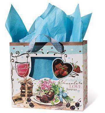Chocolate Gift Bag-Roses And Teacups