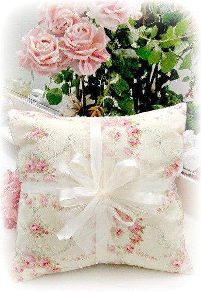 Everyday Romance Vintage Roses Pillow - Roses And Teacups