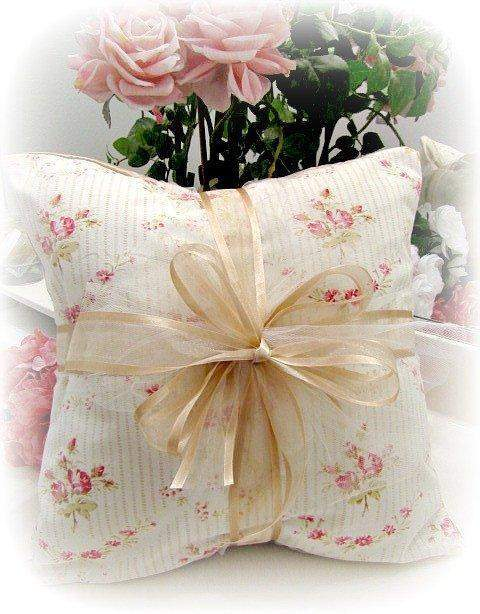 Everyday Romance Vintage Tea Rose Pillow - Roses And Teacups