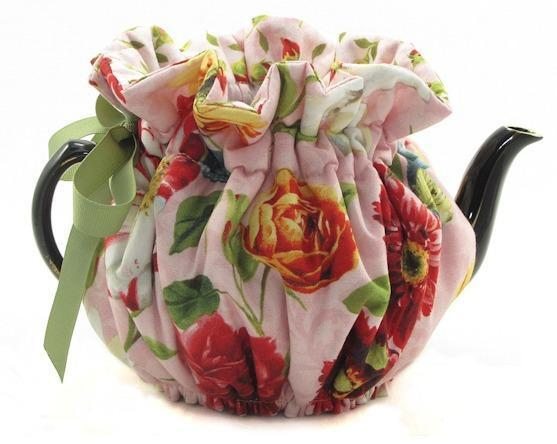 Flemish Flowers 6 Cup Teapot Tea Cozy - Limited! - Roses And Teacups