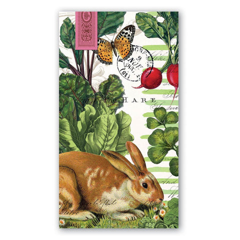 Garden Bunny Guest Towel Hostess Napkins - Limited Quantity! - Roses And Teacups