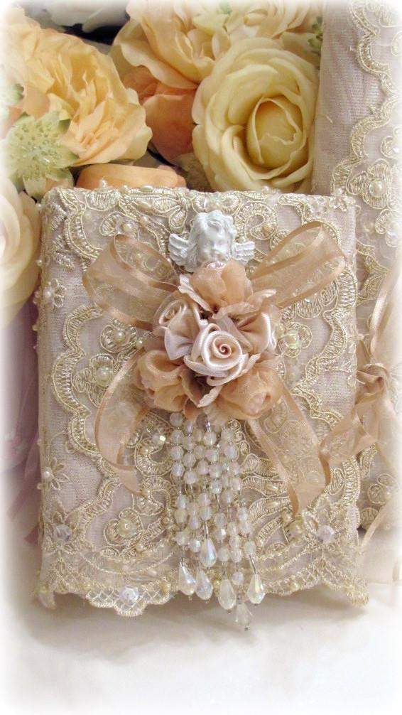 Gilded Opulence Wedding Album - Roses And Teacups
