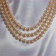 Ivory Freshwater Pearl Necklace PN026 - Roses And Teacups
