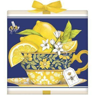 Lemon Teacup Tea Box Favor - Roses And Teacups