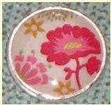 Lotti Dotties Artfully Spring Floral Dottie - Roses And Teacups