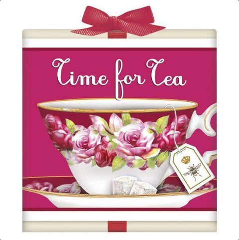 Pink Teacup Tea Box Favor - Roses And Teacups