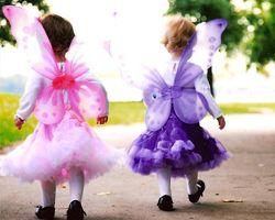 Pretty Little Girls Dress Up Pixie Wings - Pink - Limited Supply!-Roses And Teacups