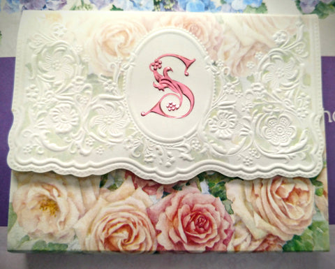 Rare Original Letter of Note Rose -S- Only 3 Left! - Roses And Teacups