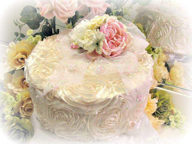 Rose Blush Cottage 12x5 Memory Box - Roses And Teacups