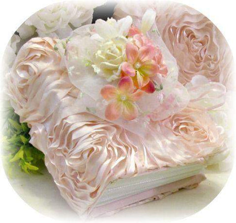 Rose Blush Cottage Small Photo Album - Roses And Teacups