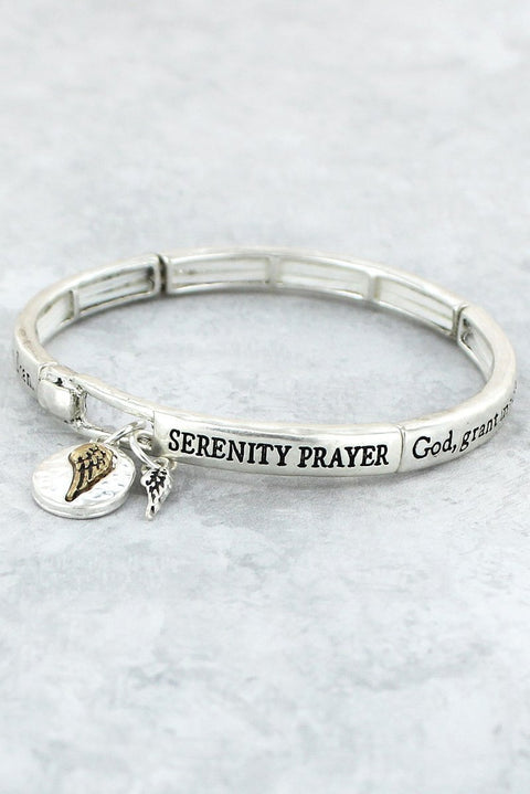 Serenity Prayer Bracelet - Roses And Teacups