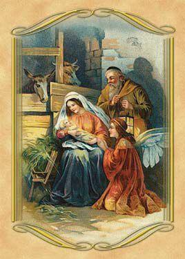 Set of 3 Nativity Envelope Sachets - Limited Supply!-Roses And Teacups