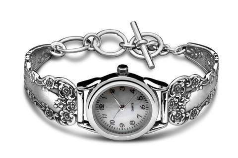 Silver Spoon Watches - Lady Helen - Roses And Teacups