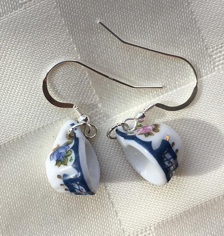 Simplicity Tea Cup (Teacup) Earrings - Roses And Teacups
