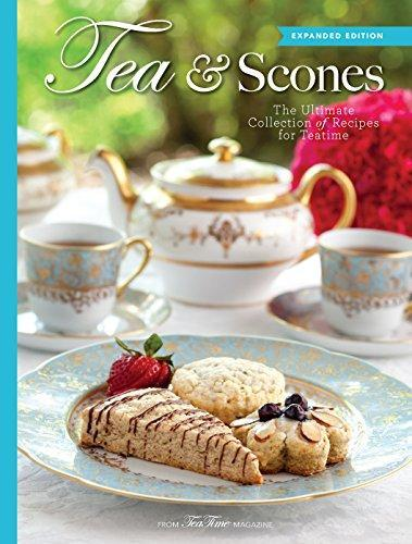 Tea and Scones The Ultimate Collection of Recipes for Tea Time - 2 Available - Roses And Teacups