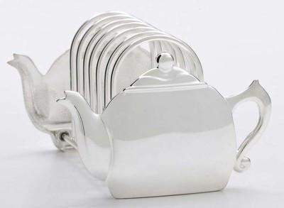 Teapot Toast Rack - Roses And Teacups