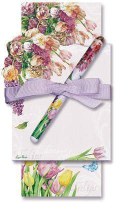 Tulip Double Notepad and Pen Set - Only 2 Left! - Roses And Teacups