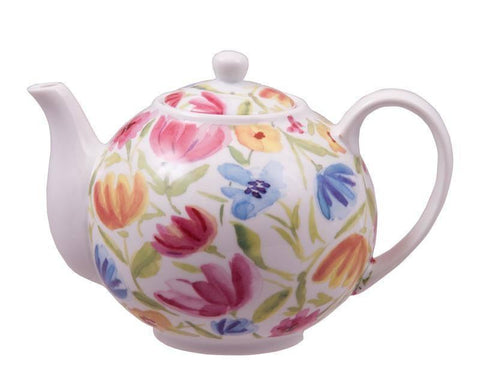 Tulips Discount Teapot - Roses And Teacups