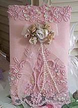 Victorian Lace Photo Albums - Roses And Teacups