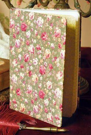 Victorian Roses Journal - Only 1 Left - Roses And Teacups
