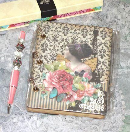 Victorian Wallpaper Journal - Roses And Teacups