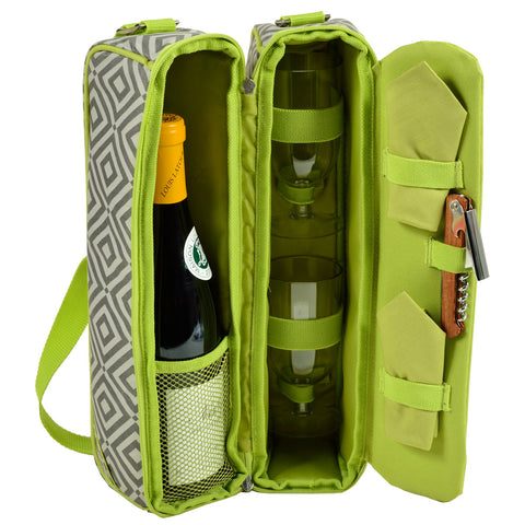 Diamond Granite Sunset Wine Carrier
