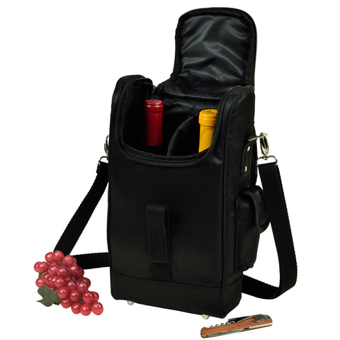New York Two Bottle Wine Tote