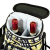 Image of Paris Two Bottle Carrier with Cheese Set