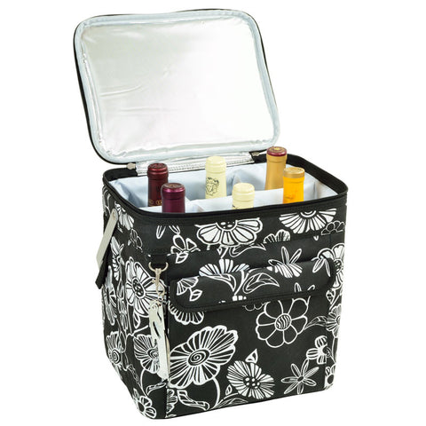 Night Bloom Multi Six Bottle Wine Carrier