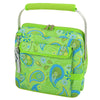 Image of Paisley Green Multi Six Bottle Wine Carrier