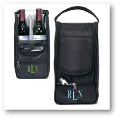 Personalized Sonoma Wine Carrier