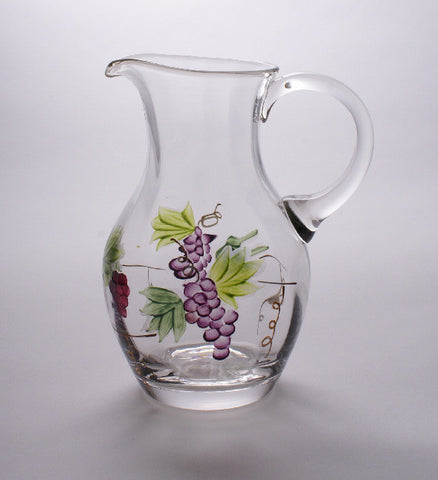 "Bacchus Wine Pitcher (medium 7"")"