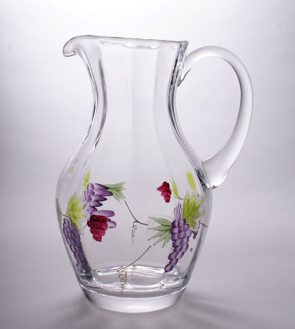 "Bacchus Wine Pitcher (large 9"")"