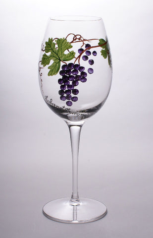 Dionysus Cabernet Sauvignon Wine Glasses (Set of 4)