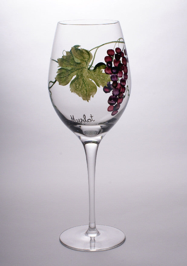 Dionysus Merlot Wine Glasses (Set of 4)