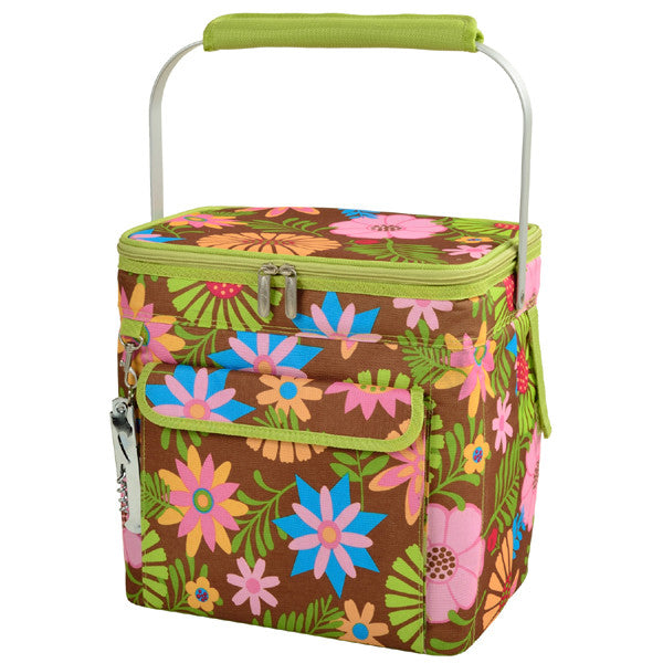 Floral Multi Six Bottle Wine Carrier