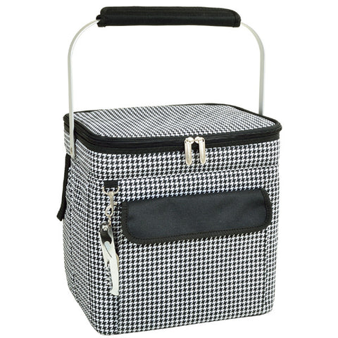 Houndstooth Multi Six Bottle Wine Carrier