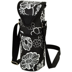 Night Bloom Single Bottle Wine Tote