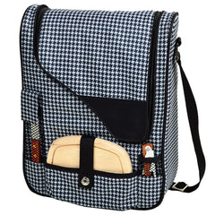Houndstooth Pinot Wine Carrier