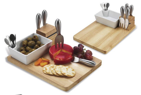 Buxton Olive & Cheese Board Set