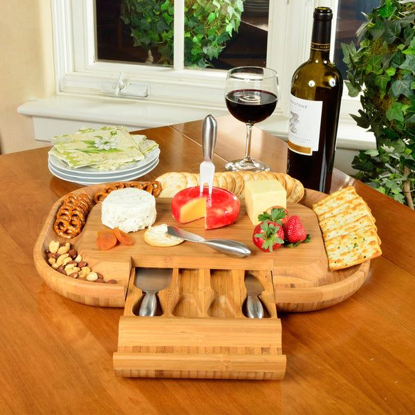 Deluxe Malvern Cheese Board Rhino Wine Gear
