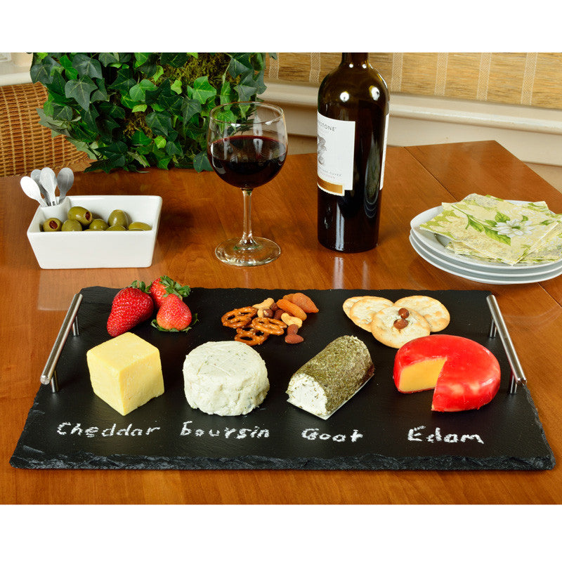 Sardo Plus Rectangle Slate Tray with Tools