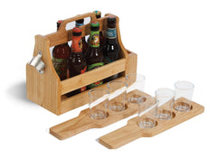6 pack Craft Beer tasting and carry set