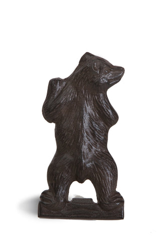 Cast iron bear shape bottle opener