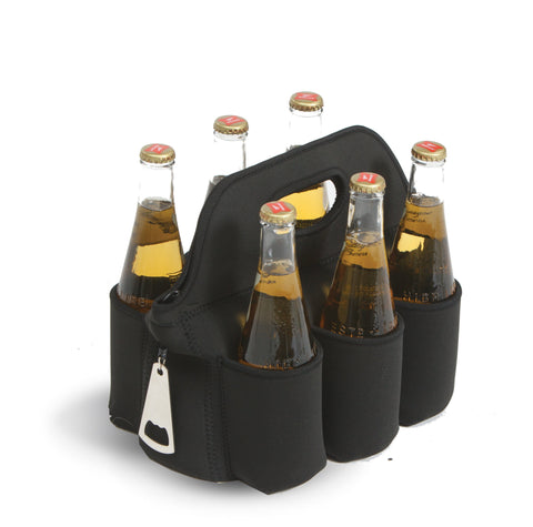 Neoprene 6 pack bottle, can carrier