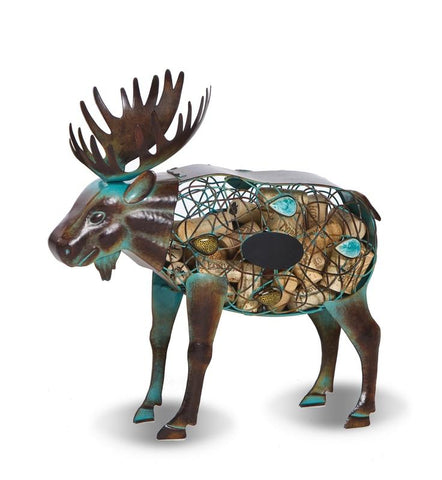 Moose Wine Cork Holder