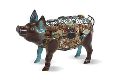 Pig Wine Cork Holder