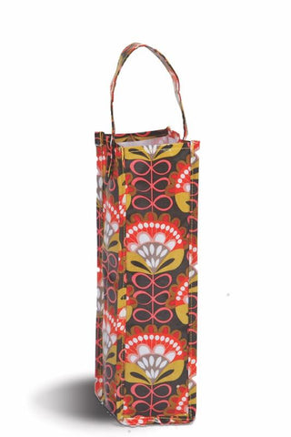 Moxie Wine Tote - Orange Martini