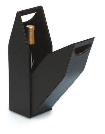 Single Wine Bottle Box - Brown